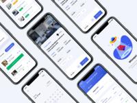 ROOMR Rent app home booking rental mobile app ios design ux ui
