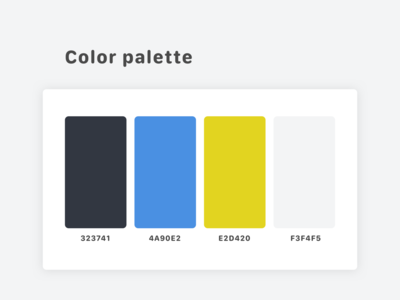 Color Pallete #1