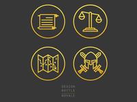 2014 Design Battle Royale Icons