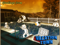 Vacation Town Collage