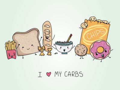 I love my carbs!