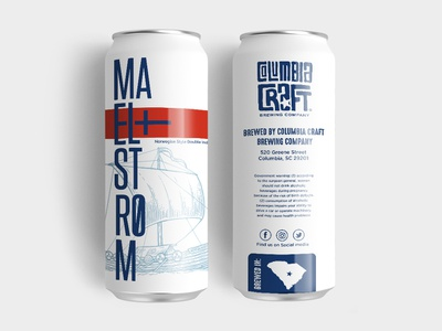 Maelstrom - Norwegian Style Double IPA craft beer brewery logo brewery beer branding beer design illustration typography vector logo design graphic design branding and identity branding