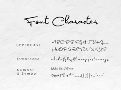 Bonagea - Handwriting Fonts