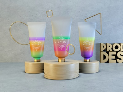 Product Design Soft Cream product product design prototype cinema4d cinema 4d octane render 3d artist