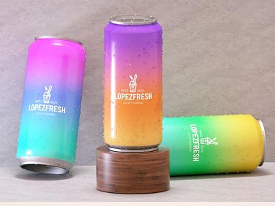 Brazilian Soft Gin - LopezFresh - by Adriano Lopes industrial design industrialdesign product art director branding 3d designer illustration 3d artist product design