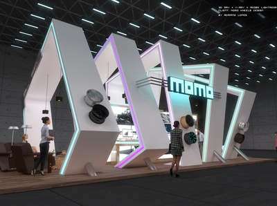Momo Stand Exhibition Design