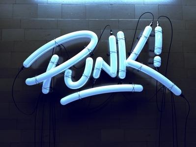 Punk Lettering