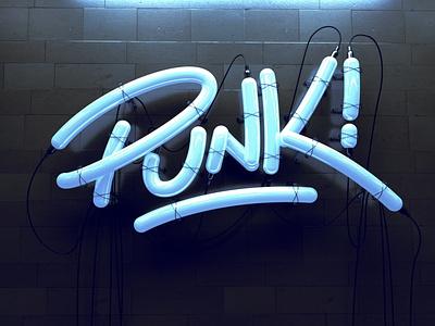 Punk Lettering 3d designer personal project octane render cinema 4d