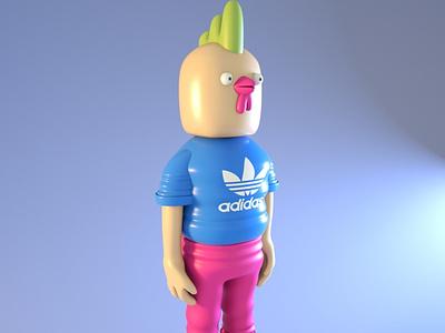 3D Designer Prototipe 3d artist 3d character modeling personal project
