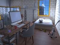 Apartament Kitnet 30m2 - Brazil