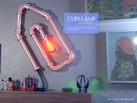 Clips Lamp - Luminaire Yupi Studio