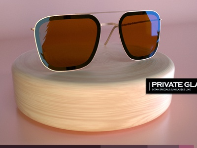 Private Glass - DITA EYESWEAR products ditaeyeswear product design art direction 3d design adobe photoshop branding illustration cinema 4d octane render 3d artist product design