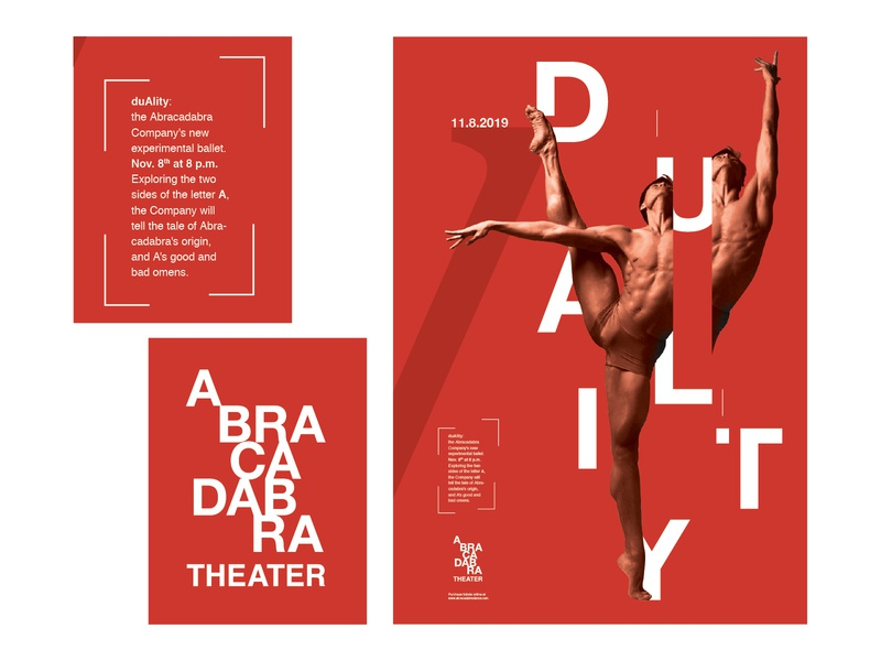 Abracadabra Theater Logo and Poster
