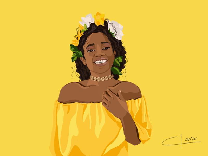 Yellow white smile smile yellow graphic design design illustration digital illustration