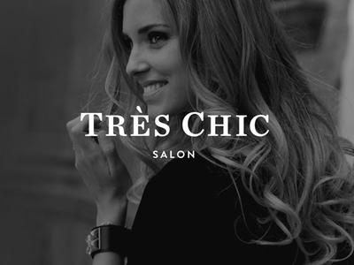Très Chic Salon Branding