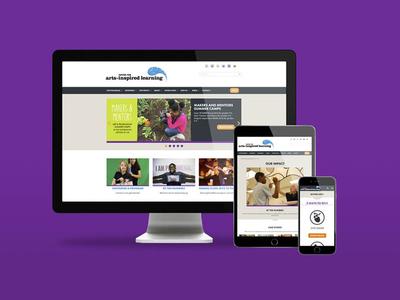 Center for Arts-Inspired Learning Website