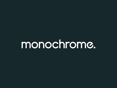 Monochrome logo wordmark simple minimal reveal ident animation logo