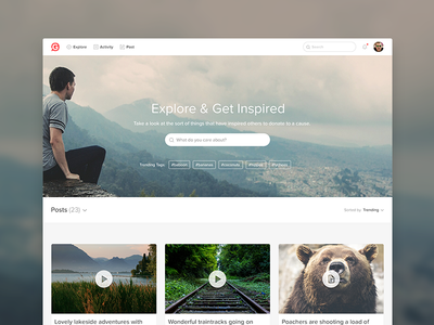 Explore - Givey