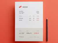 Invoice - Free Template
