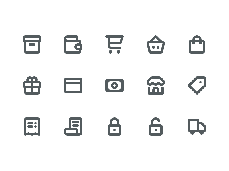 Free E-Commerce Icons dashboard ecommerce icons icon psd ai shopping shop e commerce commerce freebie free