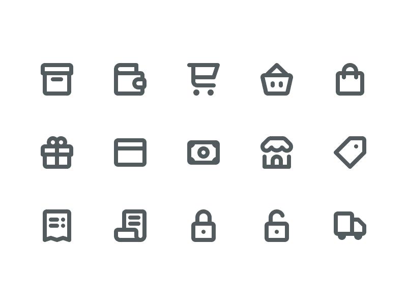 Free E-Commerce Icons dashboard ecommerce icons icon psd ai shopping shop e commerce commerce freebie free