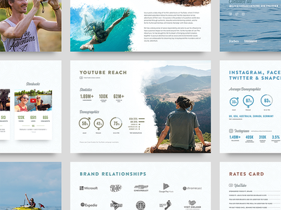 FunforLouis Deck adventure travel pdf presentation deck slides