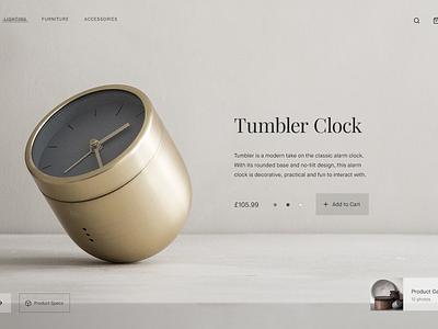 Product Colour Transition ecommerce shop dailyui 012 clock product animated animation minimalist dailyui web minimal ui
