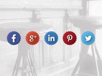 Social Media - Bottle Caps