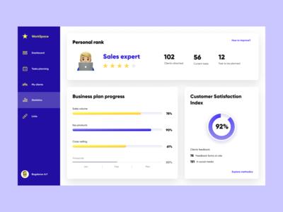 Stats page (desktop app)