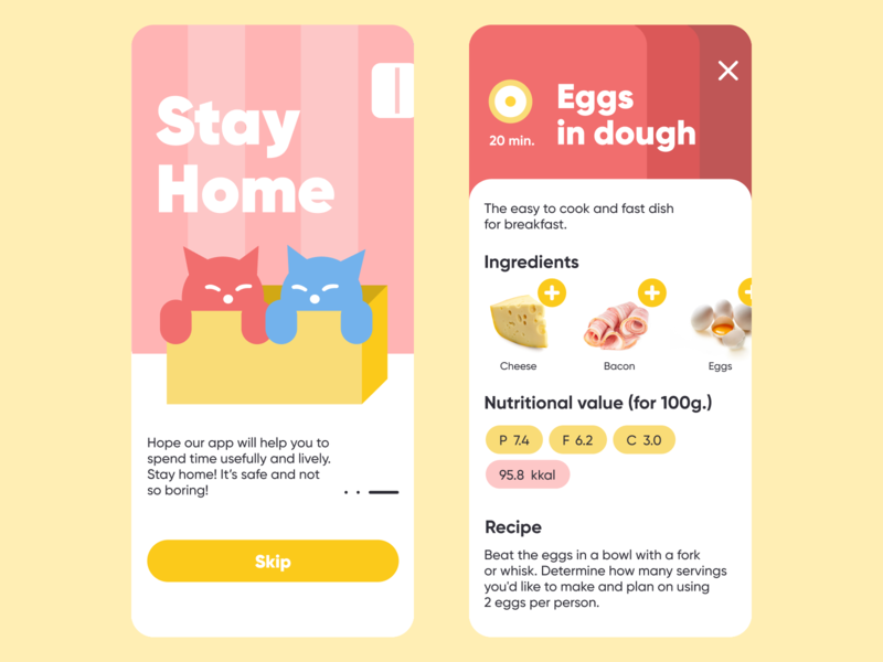 Stay Home - recipes