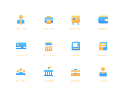 Business icon set icons pack vector finance business icon sets icons icon set