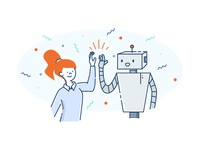 Robot High Five