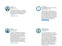 Testimonials real pixels