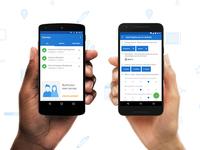 QuickTapSurvey + Android Google Material Design