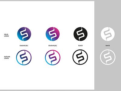 FS Logo Set identity logo