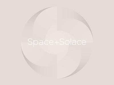 Space Solace Lockup 01 identity logo