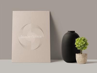 Solace Mockup 01 mockup identityt logo