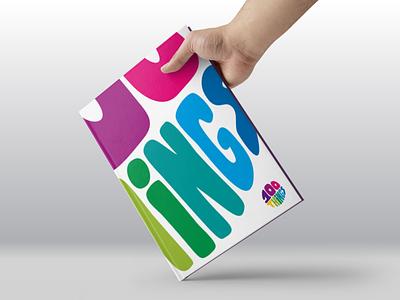 100THiNGS Book mockup branding identity design