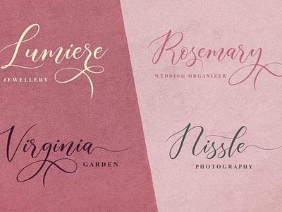 Branding | Aisyah Font logo fonts design branding