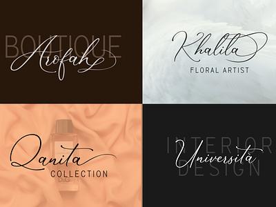 Branding | Marvelous Font Duo fonts typography logo branding design