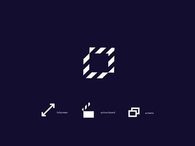 fullscreen   logo logo full screen screens video trade mark fullscreen action board