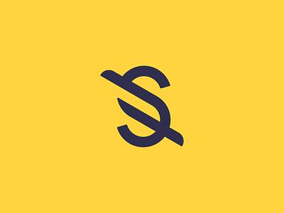 shopier typography monogram s wings trade buy sell shop shopier trade mark brand branding logo design