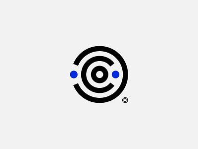 UserCentric labyrinth maze c logotype logo design branding brand trade mark centric user