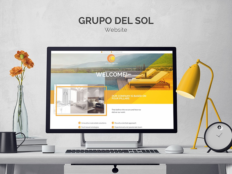 Grupo Del Sol Website grupo del sol real estate developers website