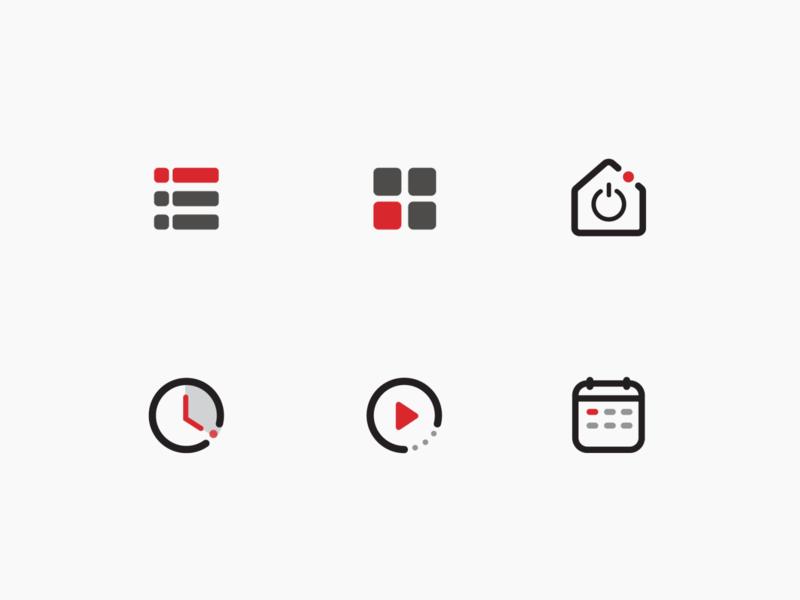 Shoponline's Icon Design icon set iconography vector colors icon design icon logo illustration graphic design design