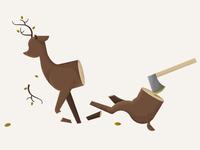 Poor Deer