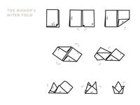 The Bishop's Miter Fold