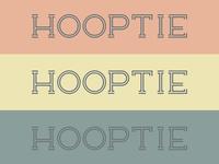 Hooptie Typeface