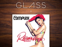 Google Glass + Complex Magazine