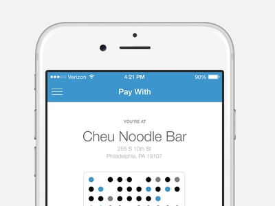 Pay With Venmo - iOS pay bar code ui ios iphone pay with venmo
